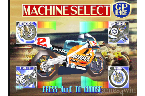Hang On GP '95 Download - Games4Win