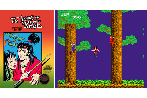 Play The Legend of Kage on NES