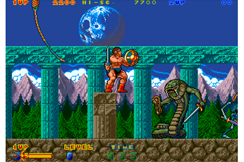 Rastan Saga II arcade video game by Taito Corp. (1988)