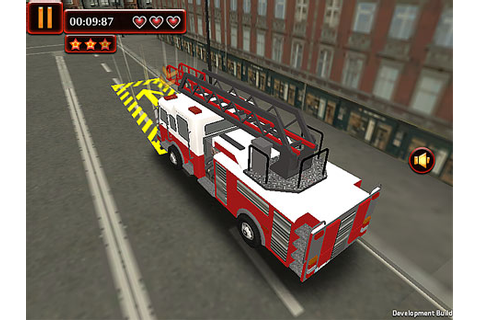 Fire Truck Dash 3D Parking Game - Play online at Y8.com