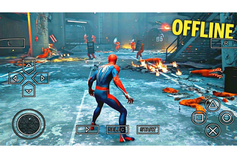 Top 10 Best PSP SuperHero Games For Android PPSSPP 2018 HD ...