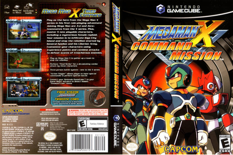 Mega Man X Collection - ISO Gamecube [NTSC-U] | Nintendo ...