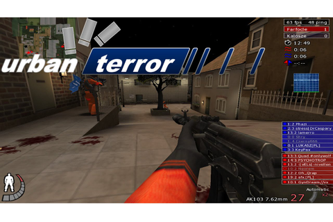 Urban Terror Gameplay - YouTube