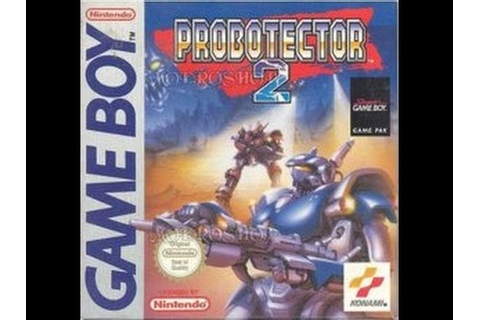Game Boy Probotector 2 Video Walkthrough - YouTube
