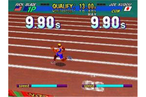 Decathlete - Sega Saturn - Games Database