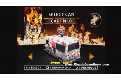 Classic Game Room - TWISTED METAL 2 review for PlayStation ...