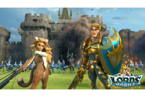Play Lords Mobile on PC with BlueStacks Android Emulator