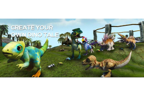 New Game: Dino Tales App - Diary of a First Child