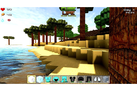 Cube Life: Island Survival HD Revealed for PC, PS4, and ...