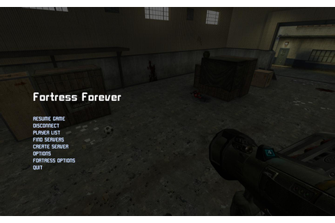 Main Menu - Fortress Forever Wiki