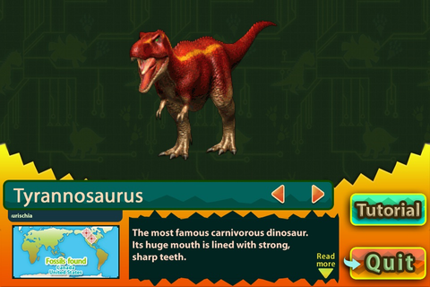 Dinosaur King D-Team Adventures video game - iPhone iPad