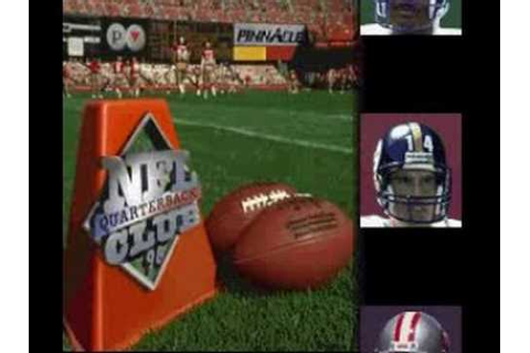 NFL Quarterback Club '96 (Super Nintendo) - YouTube