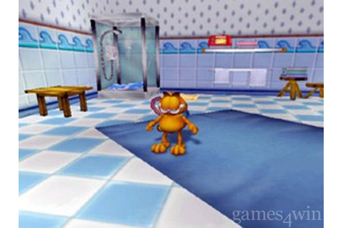 Garfield game Download on Games4Win