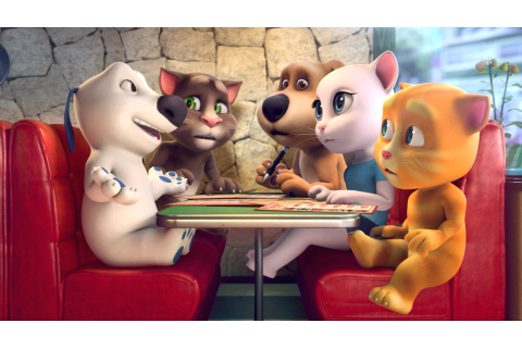 Talking Tom hits 3 billion downloads worldwide | GamesBeat ...