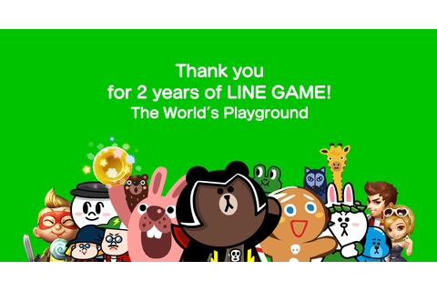 【LINE GAME】LINE GAME Celebrates Its 2nd Anniversary with ...