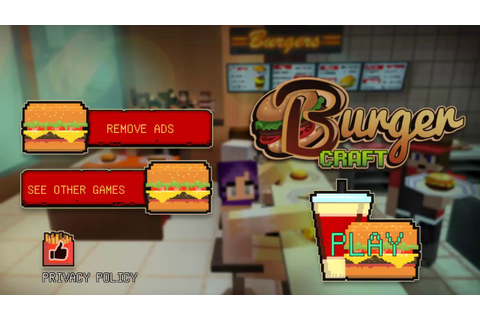 Burger Craft: Fast Food Shop Chef Cooking Games 3D ...