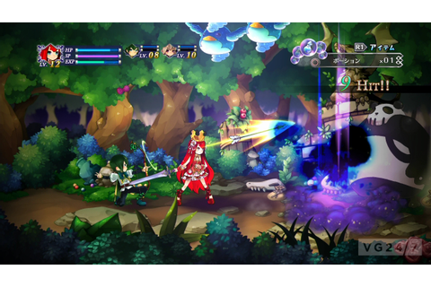 Battle Princess of Arcadias screens show off combat, duck ...