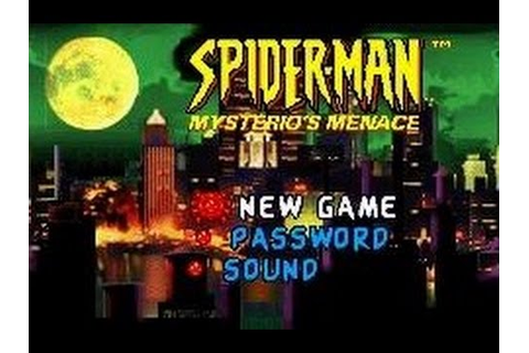 Spider-Man - Mysterio's Menace (Game Boy Advance) - YouTube