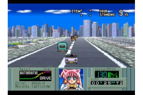 Kat's Run: Zennihon K Car Senshuken Game Sample - SNES/SFC ...