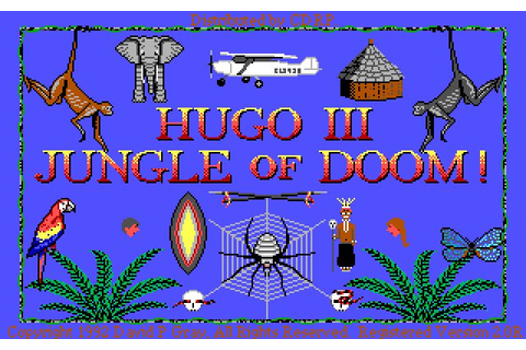 Hugo 3: Jungle of Doom adventure for DOS (1992 ...