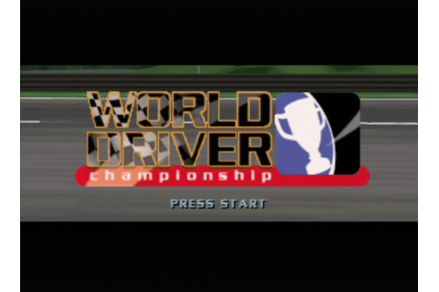 World Driver Championship (N64 / Nintendo 64) Screenshots