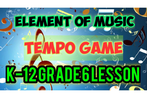TEMPO GAME - YouTube