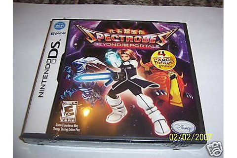 Spectrobes: Beyond The Portals (Nintendo DS) DSI new ...