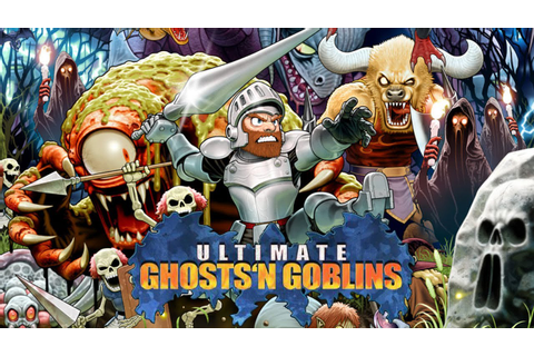 PSP - Ultimate Ghosts'n Goblins - YouTube