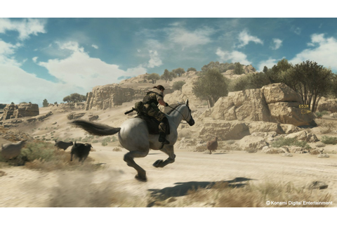 New Games: METAL GEAR SOLID V - THE PHANTOM PAIN (PS4, PS3 ...