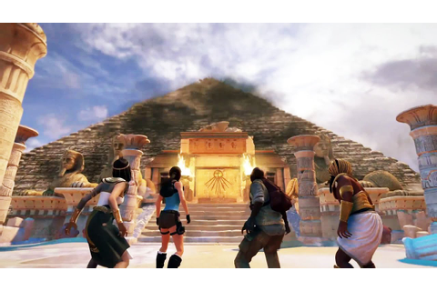 Lara Croft and the Temple of Osiris Gameplay - YouTube