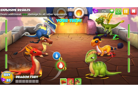 Dragon Mania Legends updated, noticeably increases the ...