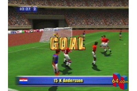 FIFA Soccer 64 Screenshots, Pictures, Wallpapers ...