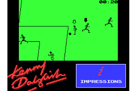 Kenny Dalglish Soccer Match (1990) by Consult Software ZX ...