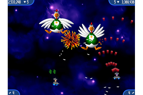 Chicken Invaders 2 > iPad, iPhone, Android, Mac & PC Game ...