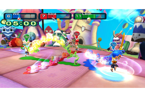 Line Attack Heroes announced for Wii by Nintendo. 4-player ...