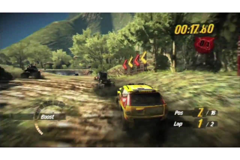 MotorStorm Pacific Rift (PS3) recenzja OG - YouTube