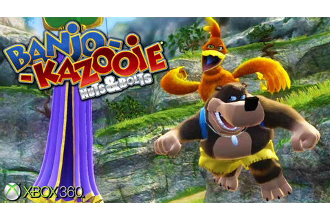 Banjo-Kazooie: Nuts & Bolts - Xbox 360 Gameplay (2008 ...