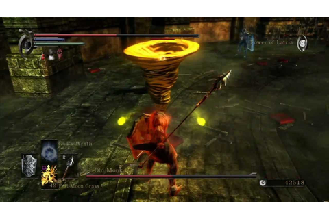 Demon's Souls 2v1 victory as Old Monk using Scraping Spear ...