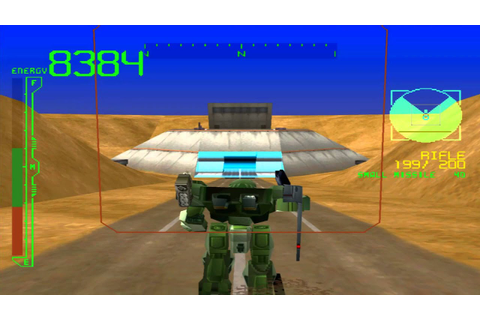 PS1 Armored core project phantasma Gameplay HD - YouTube