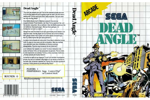 Dead Angle | Top 80's Games