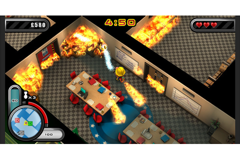 Hands-on with Flame Over, the firefighting Vita, PS4 and ...