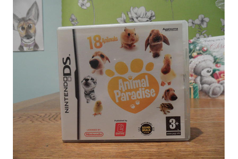 NINTENDO DS GAME- ANIMAL PARADISE - Ryde - Expired | Wightbay