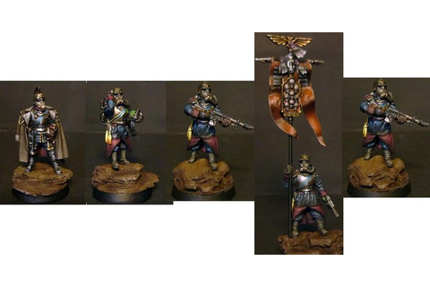 Death Korps of Krieg Command HQ Squad - Evil Games Shop
