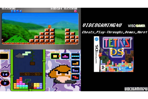 Tetris DS (NIntendo DS) - Game Play - YouTube