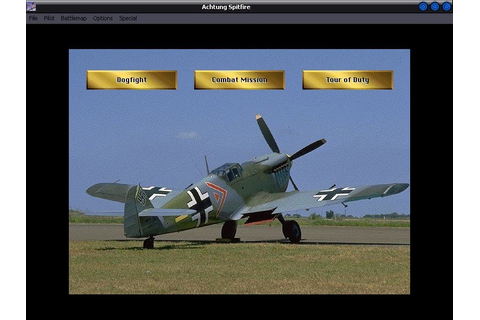 Achtung Spitfire (1997) - PC Review and Full Download ...
