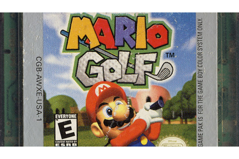 Classic Game Room - MARIO GOLF review for Game Boy Color ...