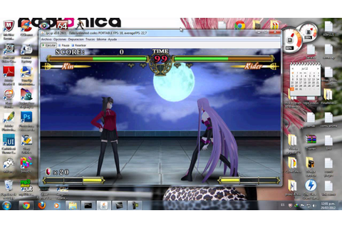 Fate Unlimited Codes para PC - YouTube