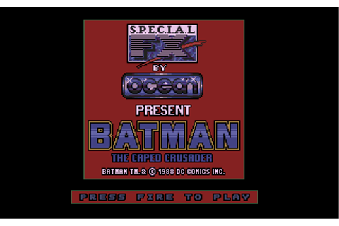 Download Batman: The Caped Crusader - My Abandonware