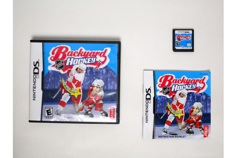 Backyard Hockey game for Nintendo DS (Complete) | The Game Guy