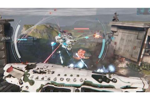 Dreadnought Devs Demonstrate Huge Spaceship Battle - YouTube